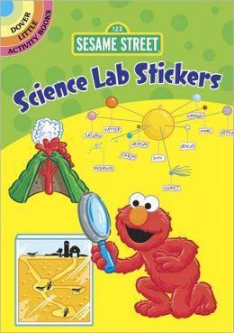 Sesame Street Science Lab Stickers