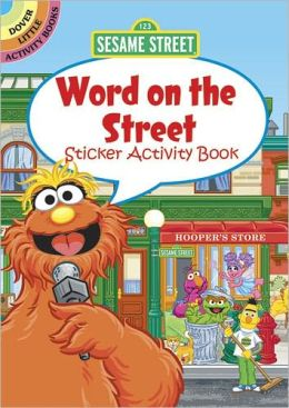 Sesame Street Word on the Street Sticker Activity Book