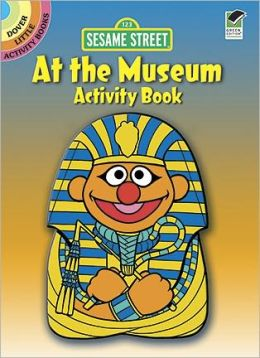 Sesame Street At the Museum Activity Book