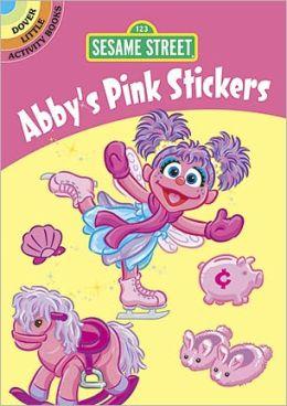 Sesame Street Abby's Pink Stickers