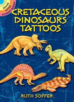 Cretaceous Dinosaurs Tattoos