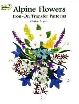 Alpine Flowers Iron-on Transfer Patterns