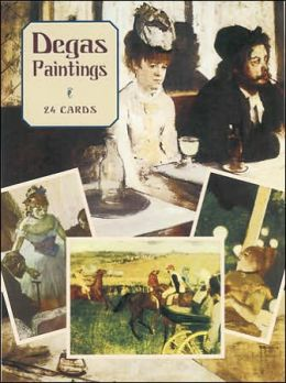 Degas Paintings: 24 Cards