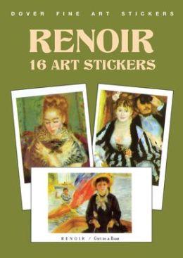 Renoir: 16 Art Stickers