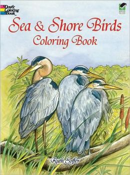 Sea and Shore Birds Coloring Book
