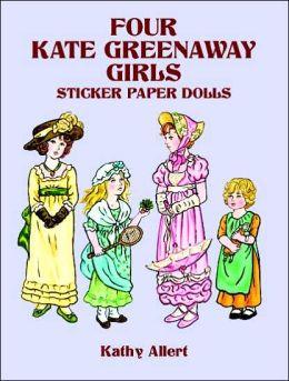 Four Kate Greenaway Girls