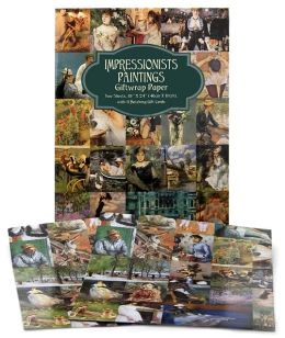 Impressionist Paintings Giftwrap Paper