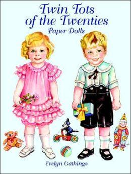Twin Tots of the Twenties Paper Dolls