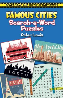 Famous Cities Search-a-Word Puzzles