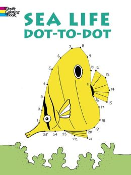 Sea Life: Dot-to-Dot