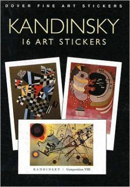 Kandinsky: 16 Art Stickers