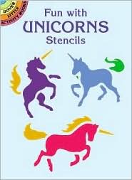 Fun with Unicorns Stencils