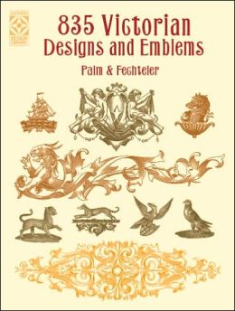 835 Victorian Designs and Emblems
