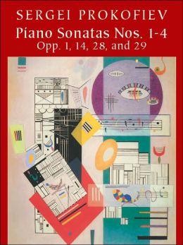 Sergei Prokofiev: Piano Sonatas Nos. 1-4: Opp. 1, 14, 28, and 29