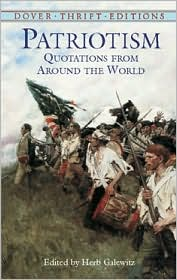 Patriotism: Quotations from around the World (Dover Thrift Editions Series)