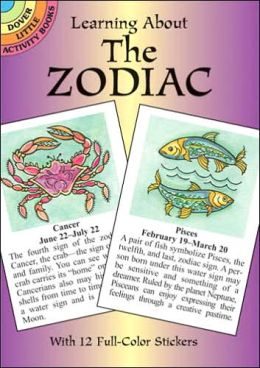Learning About the Zodiac (Dover Little Activity Books)