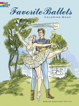 Favorite Ballets: Coloring Book (Dover Pictorial Archive Series)