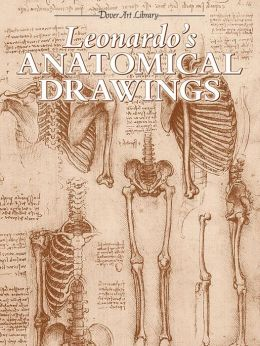 Leonardo's Anatomical Drawings (Dover Art Library Series)