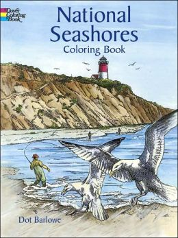 National Seashores Coloring Book