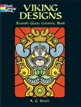 Viking Designs Stained Glass Coloring Book (Dover Coloring Books Series)