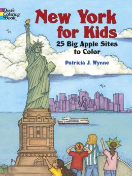 New York for Kids: 25 Big Apple Sites to Color
