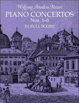 Piano Concertos Nos. 1-6 in Full Score
