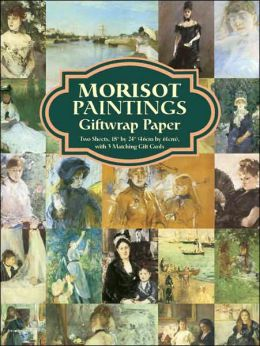 Morisot Paintings Giftwrap Paper: Two Sheets 18