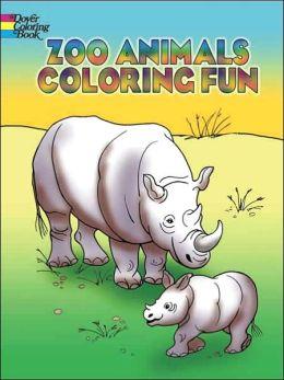 Zoo Animals Coloring Fun