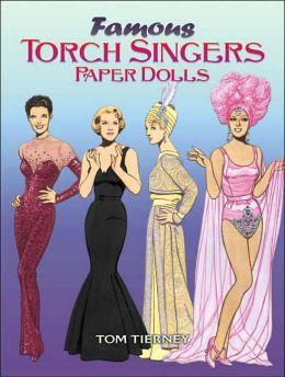 Famous Torch Singers Paper Dolls