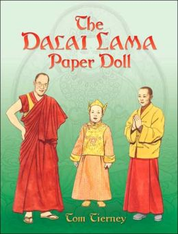 The Dalai Lama Paper Doll