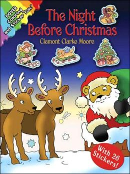 The Night Before Christmas: Coloring and Sticker Fun