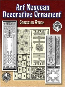 Art Nouveau Decorative Ornament