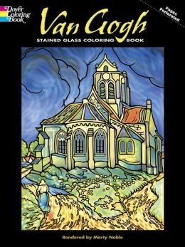 Van Gogh Stained Glass Coloring Book (Dover Coloring Book Series)
