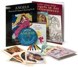 Angels Arts & Crafts Fun Kit: Stickers, Coloring Books, Clip Art, Tattoos & More