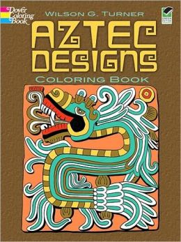Aztec Designs Coloring Book