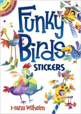Funky Birds Stickers
