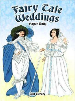 Fairy Tale Weddings Paper Dolls