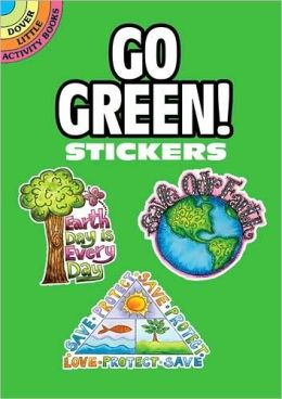 Go Green! Stickers