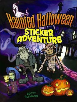 Haunted Halloween Sticker Adventure