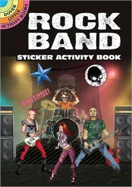 Rock Band Sticker Activity Book