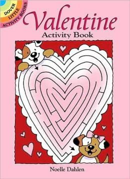 Valentine Activity Book