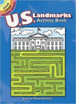 U.S. Landmarks Mazes