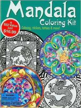 Mandala Coloring Kit