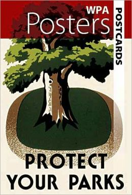 WPA Posters Postcards