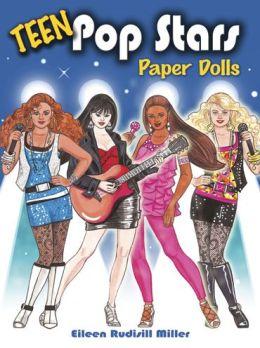 Teen Pop Stars Paper Dolls