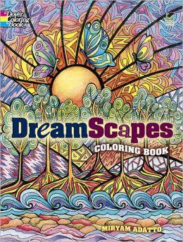 DreamScapes Coloring Book