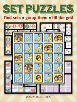 Set Puzzles: Find sets, group them, fill the grid