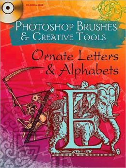 Photoshop Brushes & Creative Tools: Ornate Letters and Alphabets