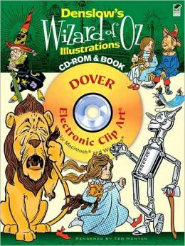 Denslow's Wizard of Oz Illustrations CD-ROM and Book