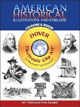 American Historical Illustrations and Emblems CD-ROM and Book